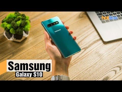 Samsung Galaxy S10 — обзор смартфона
