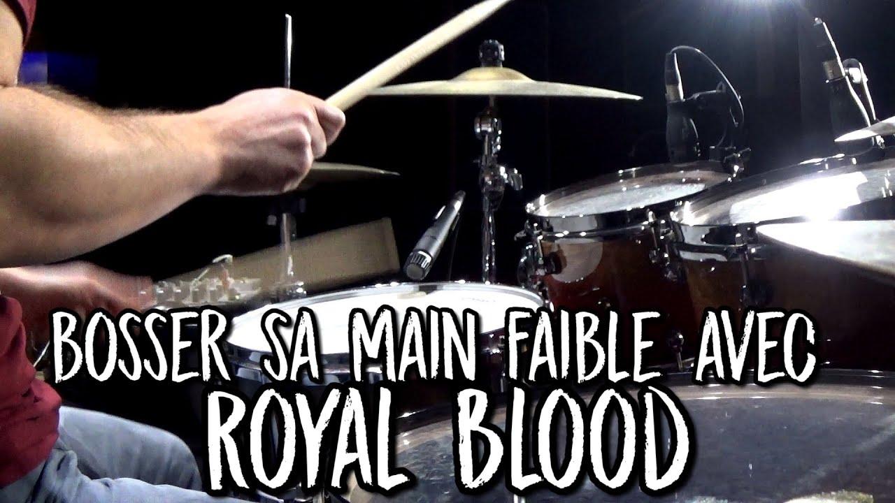 "Nouvelle vidéo : ""Bosser sa main faible avec Royal Blood!"""