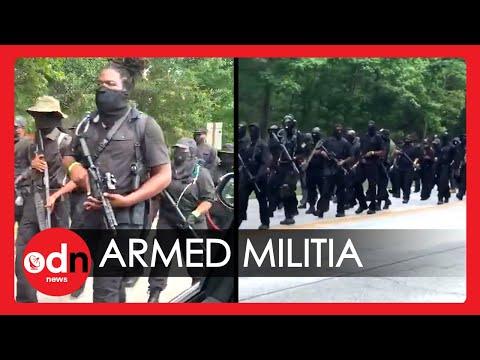Heavily-Armed Black Militia