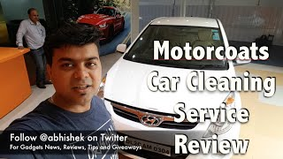 Off Topic | Auto | Hindi | Motocoats Car Cleaning, Detailing, Car Paint Protection Service Review