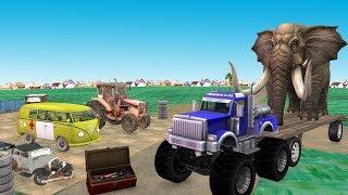 विशाल ट्रक Monster Truck हिंदी कहानियां Hindi Kahaniya Funny Comedy Videos In Hindi