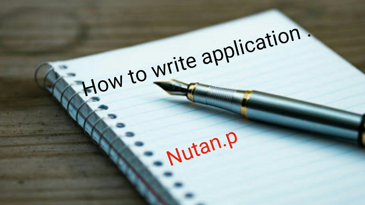 how to write application teaching job