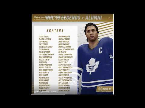 NHL 19 Legends update 9-19-18