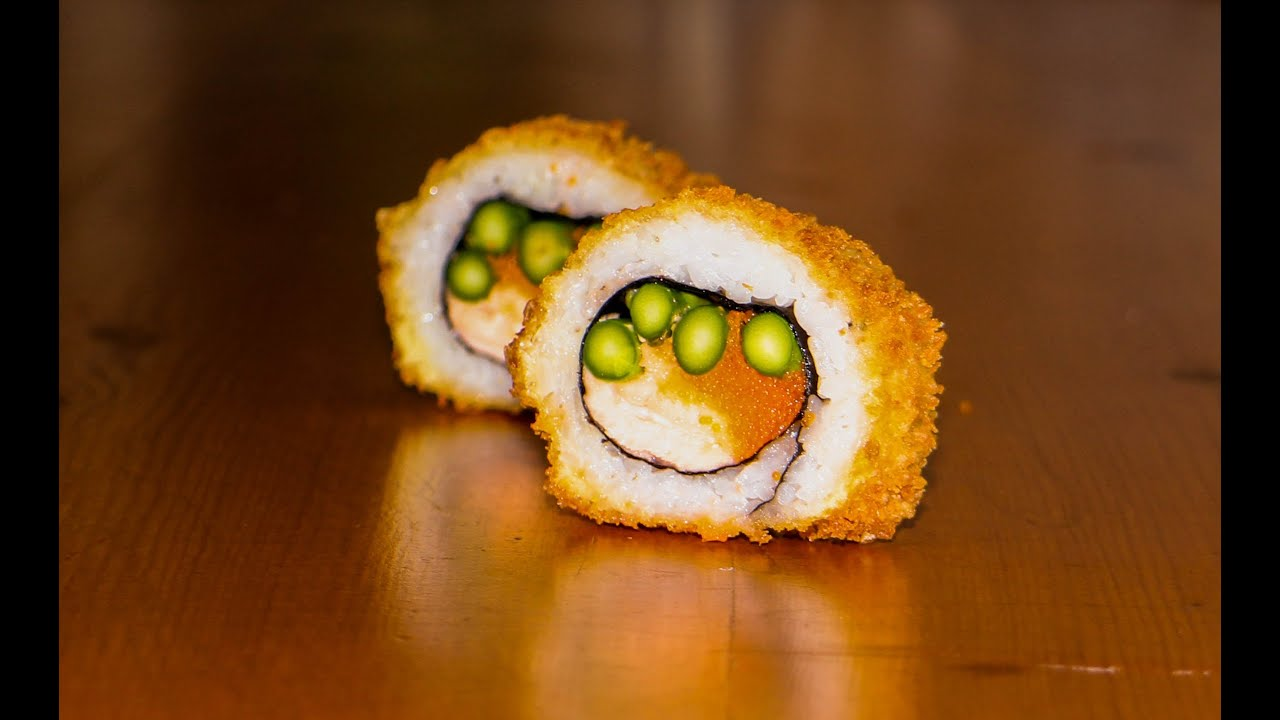 Deep Fried Sushi Roll Recipe