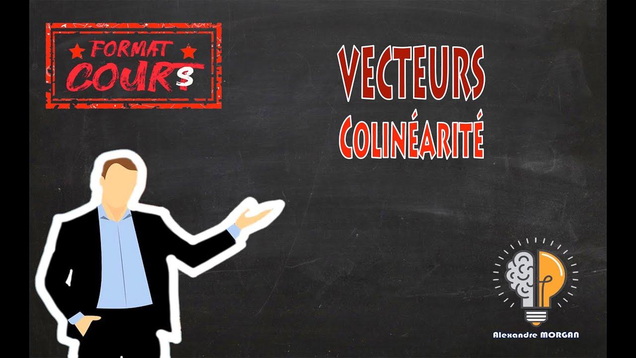 Format Cours 2nde - Vecteurs colinéaires - YouTube