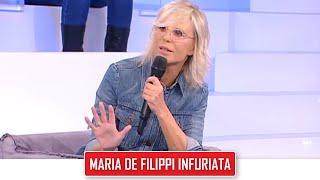 Amici 21 e la rabbia di Maria De Filippi contro Flaza: