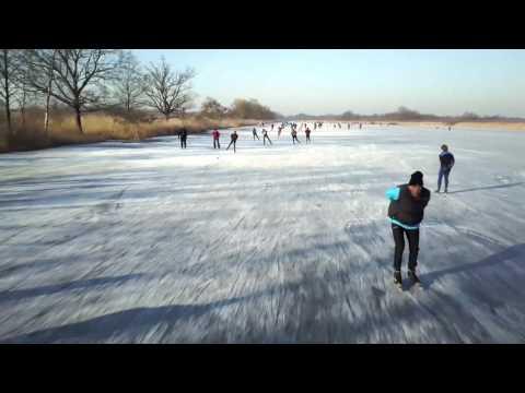 De schaatsinvasie in