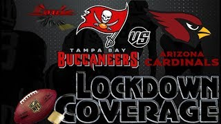 Lockdown coverage | tampa bay buccaneers vs. arizona cardinals wk 6 analysis | #louieteelive