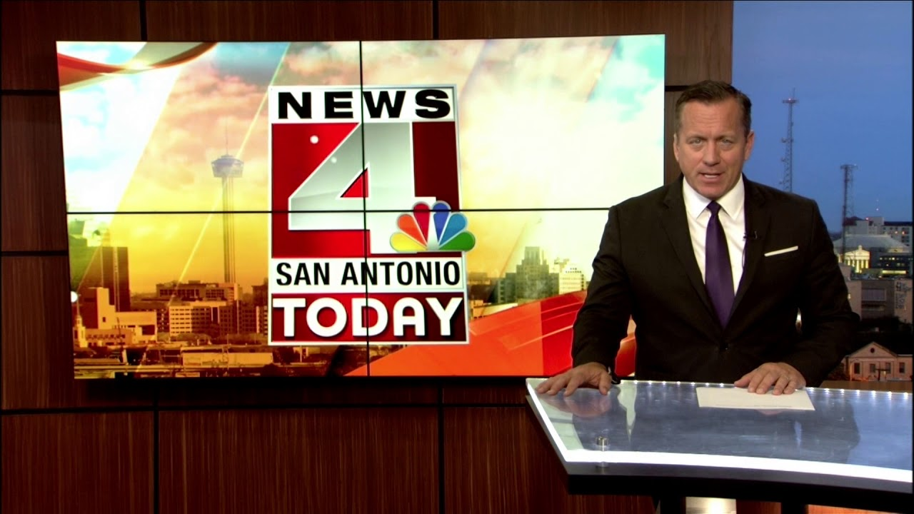 WOAI News 4 San Antonio Update (7:55 AM), 5/15/2018