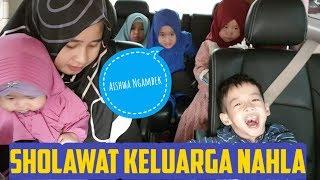 AISHWA NGAMBEK - Sholawat Bareng Keluarga Nahla