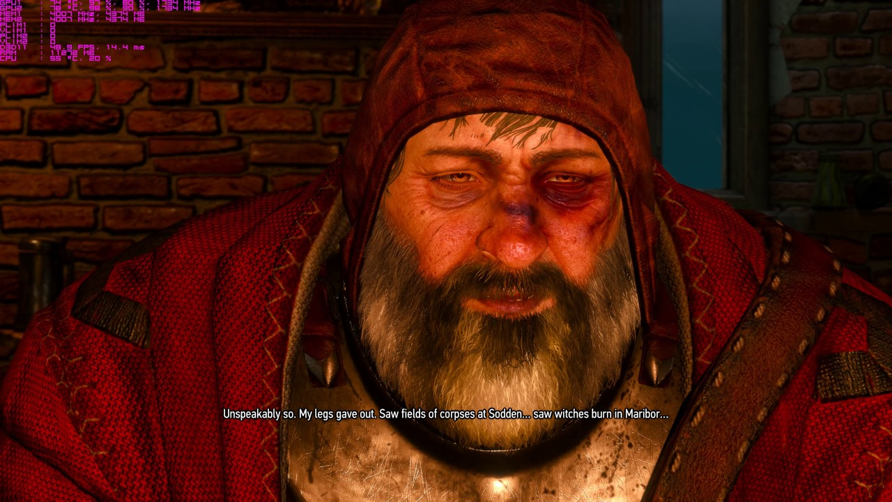 The Witcher 3 Talk with the Baron