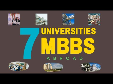 7 Universities Recommended by MBBSDIRECT for MBBS Abroad (2020-21)