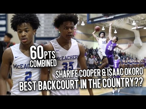 Meet The MOST EXCITING Backcourt In The COUNTRY!! Sharife Cooper & Isaac Okoro GO CRAZY Drop 60 PTS!