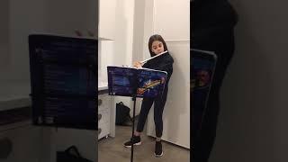 Staccato blues - flauto traverso