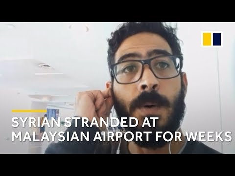 The Terminal: Syrian man stranded at Malaysian airport for more than a month