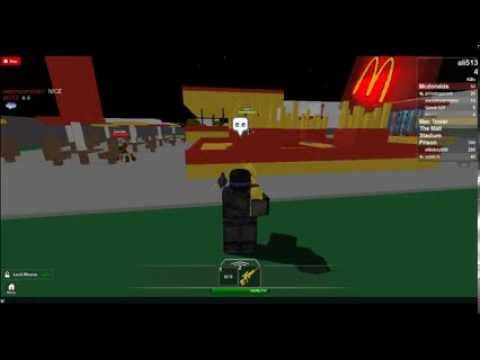Roblox Zombies Attacking Mcdonalds 2