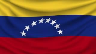 Waving Venezuela Flag 1080P