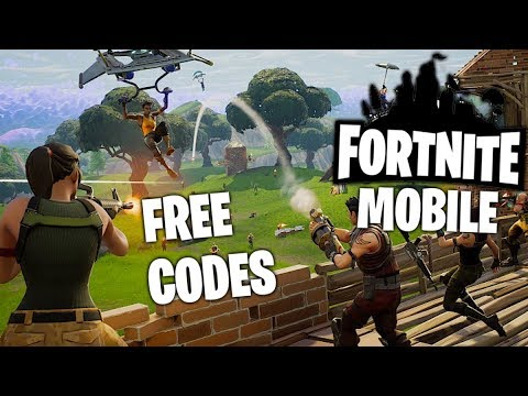 PLAYING FORTNITE MOBILE WITH SUBSCRIBERS! GIVING AWAY ACCESS CODES!