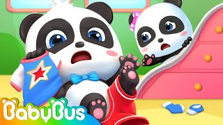Download lagu This Is The Way We Get Dressed | Good Habits Song | Nursery Rhymes | Kids Songs | BabyBus