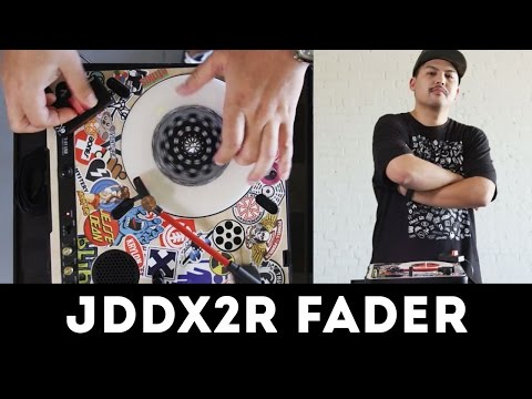 Cut session with Jesse Dean JDDX2R portable fader