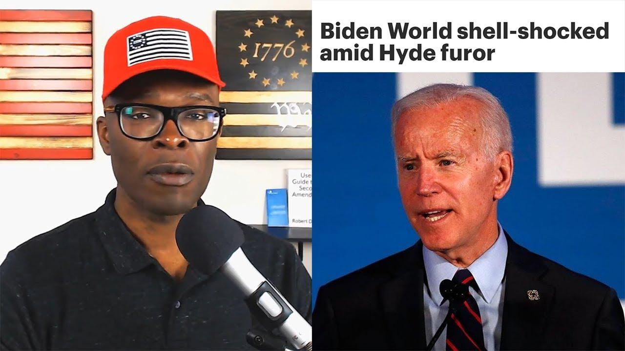 Anthony Brian Logan - Joe Biden FLIP FLOPS On Hyde Amendment At The Zero Hour!