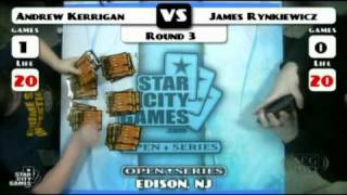 SCGLive NJ Leg Rd3 AJ Kerrian vs James Rynkiewicz