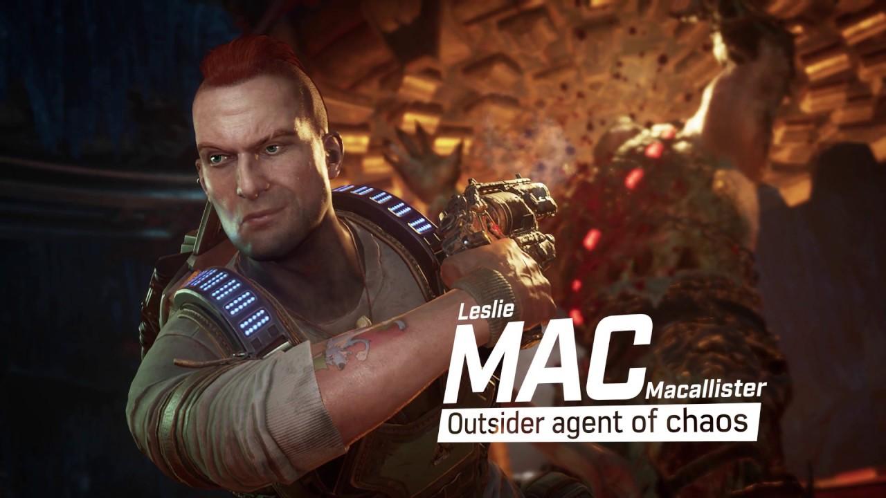 Gears 5 Character Spotlight: Mac