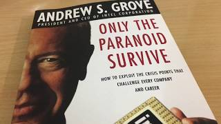 BOOK FOR MANAGERS VIDEO | Only The Paranoid Survive | Andy Groove