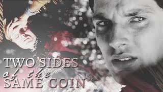 merthur » two sides of the same coin (for vicky)