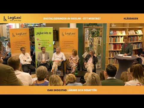 Paneldebatt Om Digitaliseringen I Svenska Skolan (kort)
