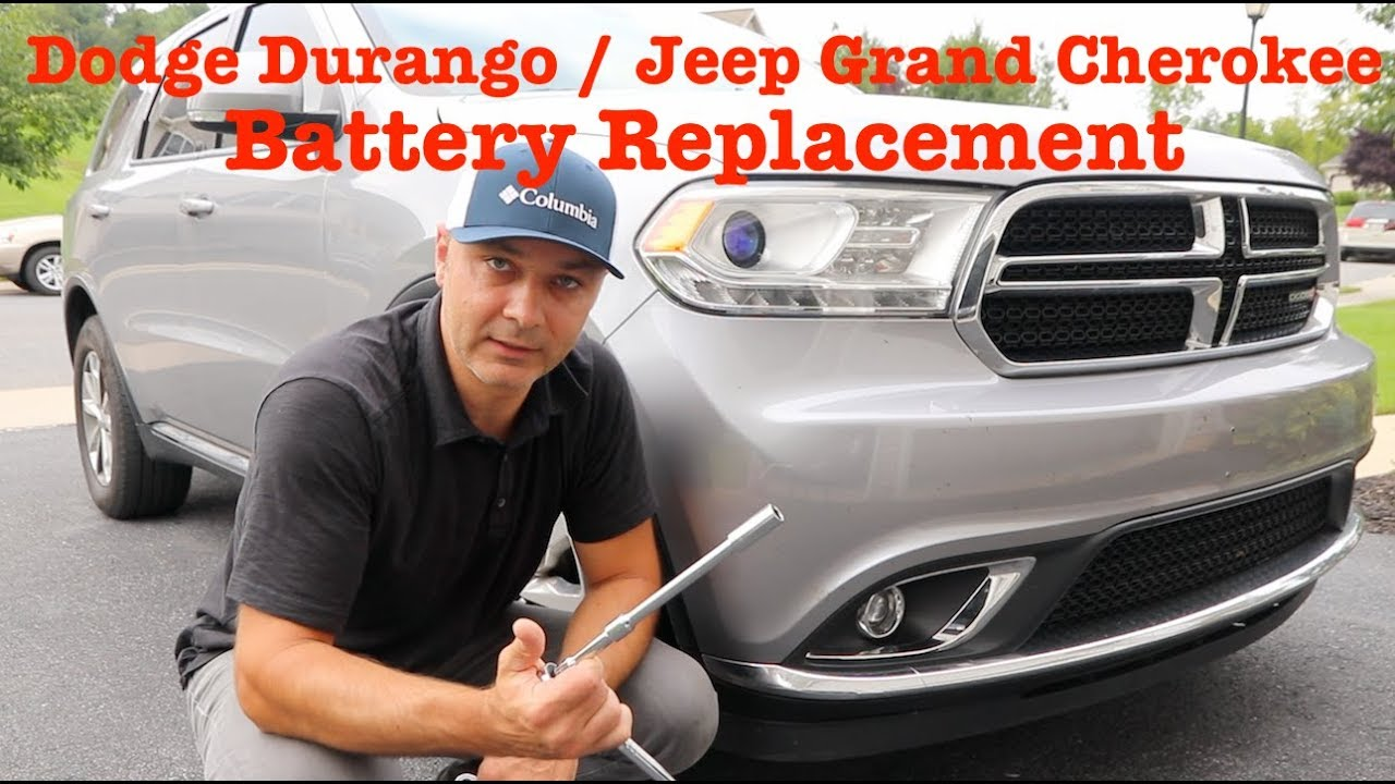 Battery Location Replacement Dodge Durango Jeep Grand Cherokee 2017 And Up