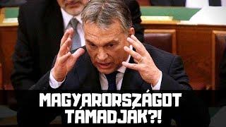 Felmossák Orbánnal a Padlót a Magyar Parlamentben - Sargentini Jelentés Után
