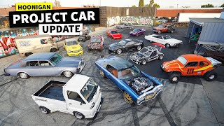 ALL of Our Company Project Cars in One Place - And What We're Going to do to Them // HHH Ep.006