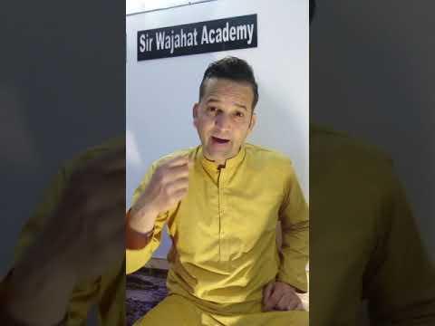 Sir Wajahat Academy Message For Demanding People - #domore #sirwajahatacademy #wajahatnazirahmed