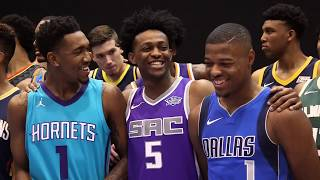 All-Access: 2017 NBA Rookie Photo Shoot