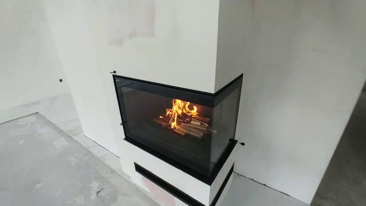 Kominek Narozny Uniflam 700 Plus Eco Youtube