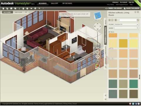 Autodesk Homestyler — Refine Your Design