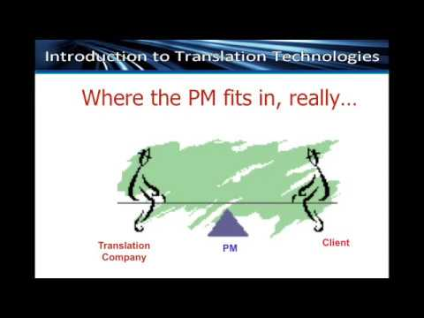 Translation project management