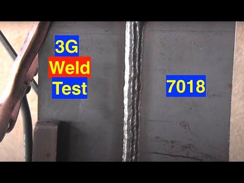 Stick Welding Tips Vertical 7018