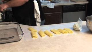 Average Joe Cooking Show - Stuffed Manicotti