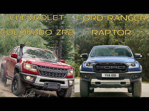 Chevrolet Colorado ZR Bison vs  Ford Ranger Raptor
