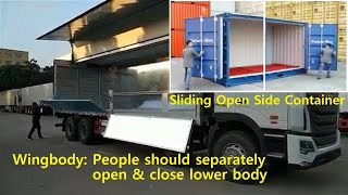 Sliding Open Side Container, 사…