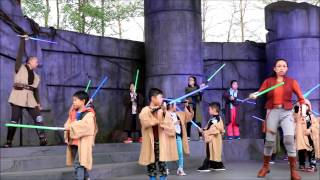 Jedi Training Trials of the Temple - Hong Kong Disneyland