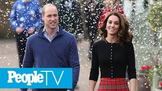 Kate Middleton And Prince William Celebrate Military Families With Palace Christmas Party | PeopleTV