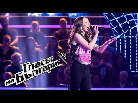 Симона Захариева – Dangerous Woman – Гласът на България 5 – Супер битки (13.05.2018)