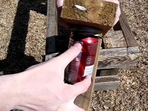Free DIY Can Crusher