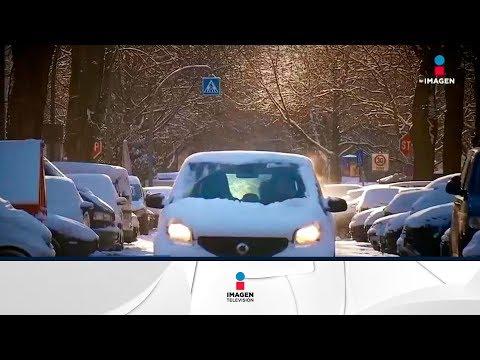 Ola de frío en Europa, los termómetros arrojan cifras bajo cero | Noticias con Francisco Zea