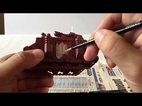 Space Marine Razorback painting guide
