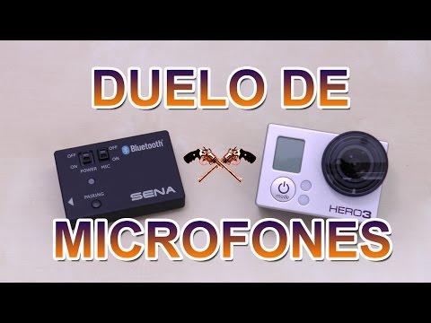 Duelo de microfones: GoPro vs SENA GoPro Pack  ((PT))