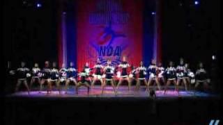 NDA Nationals 2009: Arlington High School- Lg Varsity Pom 5th place